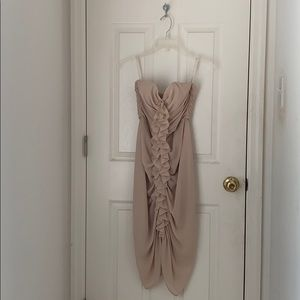 brand new H&M strapless dress
